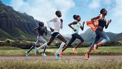 Nike Running Shoes Athlete Athletes Wallpapers Runner