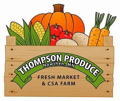 Clipart Market Produce Farmers Farming Thompson Farm