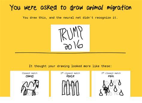 asked  draw animal migration  drew