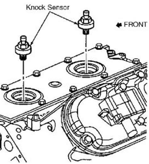 2004 Silverado Knock Sensor Wiring Diagram by 2001 Chevy Silverado Installing A Knock Sensor 2001 Chevy 1