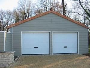 Menuiseries exterieures gt portes de garage et portails for Porte de garage sectionnelle avec double porte pvc