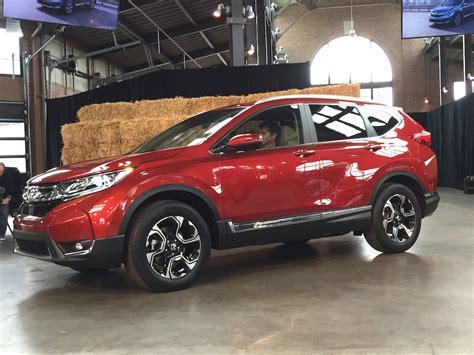 2017 Honda Cr-v World Unveil