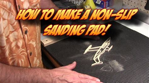 slip portable sanding pad  scroll