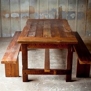 Reclaimed Wood Farm Table - From Start to Finish