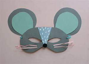 printable mouse mask template - diy paper cat and mouse masks mer mag