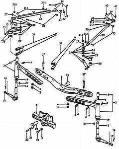 Front Axle Parts For Ford 8n Tractors  1947