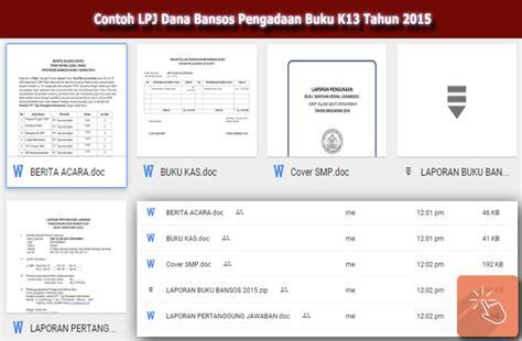 contoh kwitansi lpj dana hibah contoh lpj dana bansos pengadaan buku k13 tahun 2015