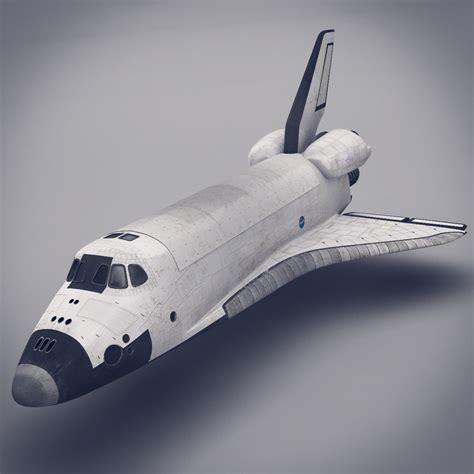 space shuttle  model max obj fbx lwo lw lws ma