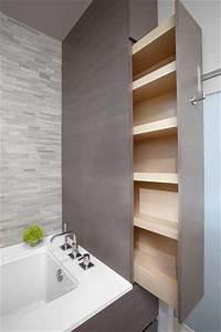 Rangements Salle De Bain : 10 rangements salle de bain pour un gain de place maxi ~ Nature-et-papiers.com Idées de Décoration