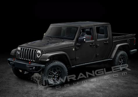 latest  jeep jt pickup info  preview images  jeep wrangler forums jl jt