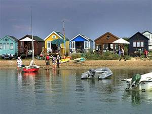 Beach Huts Hengistbury Head Photograph by Mike Lester