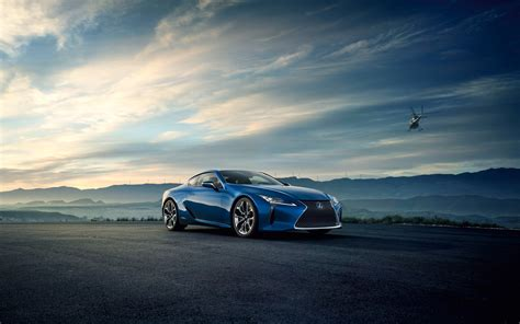 2016 Lexus Lc 500h Luxury Coupe 2 Wallpaper