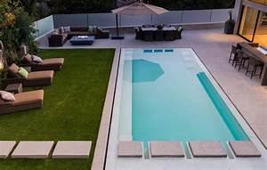 Garten Pool Rechteckig : tipps zum bau und einbau eines swimmingpools im garten ~ Sanjose-hotels-ca.com Haus und Dekorationen