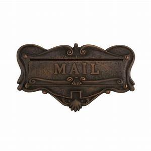 adorned solid brass quotmailquot letter slot mail slots With mail letter slot