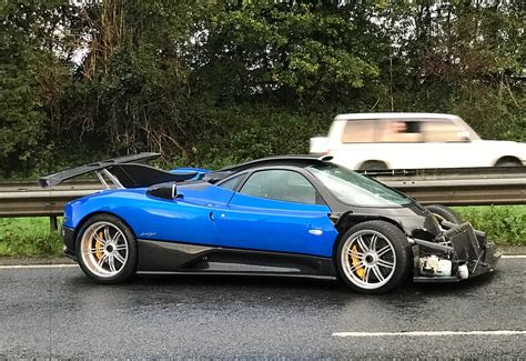 One-off Pagani Zonda Ps Crashed In Uk On Way To Track Day