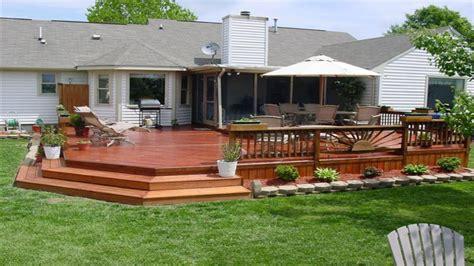 Backyard Deck Plans by Small Backyard Decks Simple Deck Designs Deck Design