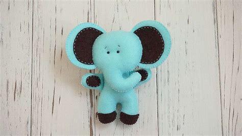 cute felt elephant diy crafts tutorial