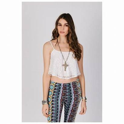 Blouses Lace Shorts Tops Flat Cold Models