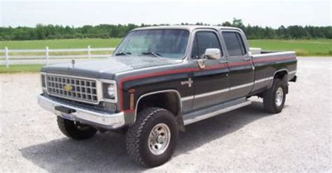 Chevy K20 Wallpaper by 1978 K30 3 3 Crew Cab Chevy Trucks 4x4