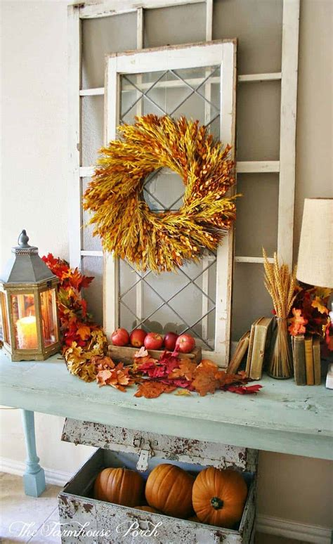 28 Welcoming Fallinspired Entryway Decorating Ideas
