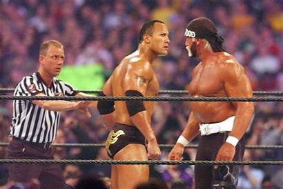 Wrestling Rock Wwe Wrestlers Famous Hulk Professional
