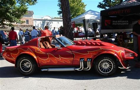 show me a monster truck corvette summer the 25 best movie corvettes complex ca