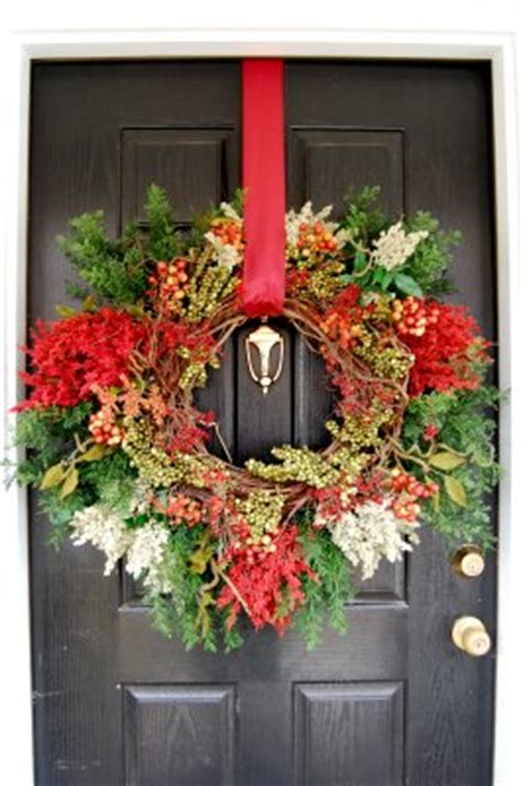 how to hang a wreath on a door how to hang a wreath