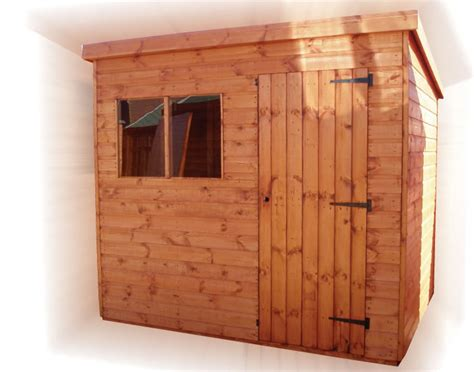 8x6 Storage Shed Plans by 8x6 Pent Shed Plans Slp