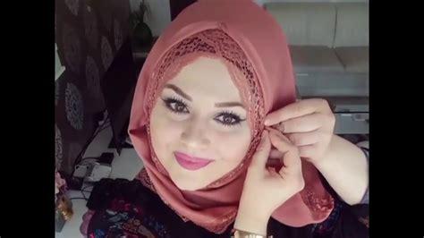 turkish hijab style tutorial  part  youtube
