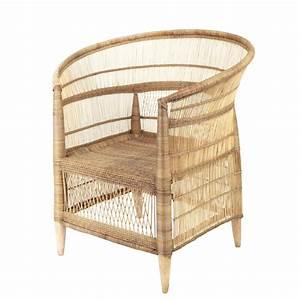 Canapé Rotin Maison Du Monde : fauteuil tiss en bambou et rotin malawi maisons du monde ~ Teatrodelosmanantiales.com Idées de Décoration