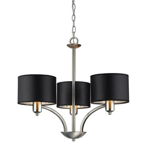 hton bay sheldon murray 3light 72 chandelier brushed