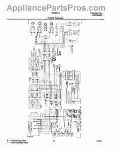 Parts For Frigidaire Frs26r4aq7  Wiring Diagram Parts