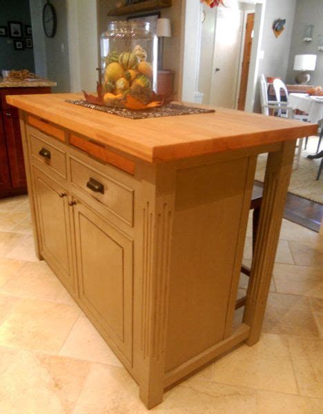 kitchen island home projects pinterest