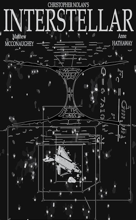 interstellar poster tesseract  zanzibarland  etsy
