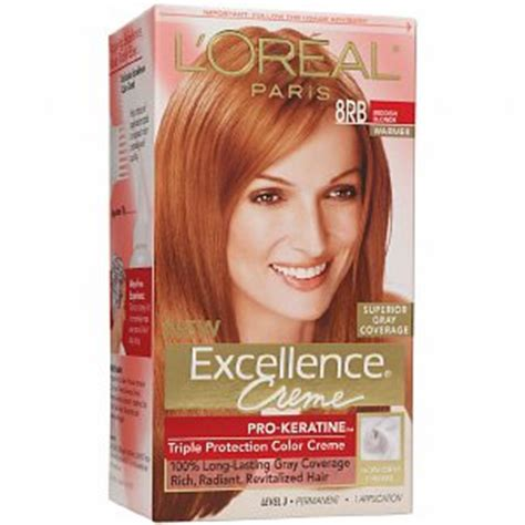 l oreal excellence 9rb light reddish blonde l 39 oreal excellence 8rb reddish blonde haircolor wiki