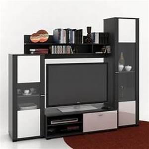 Meuble Tele Avec Rangement : meuble tv avec colonne rangement meubles de design d 39 inspiration pour la ~ Teatrodelosmanantiales.com Idées de Décoration