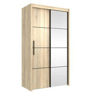 Small Width Wardrobes by Inova Small Sliding Door Wardrobe Cupboard Oak Effect