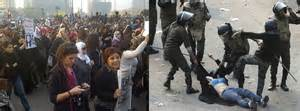 egypt women occupy tahrir square  protest sexual abuse