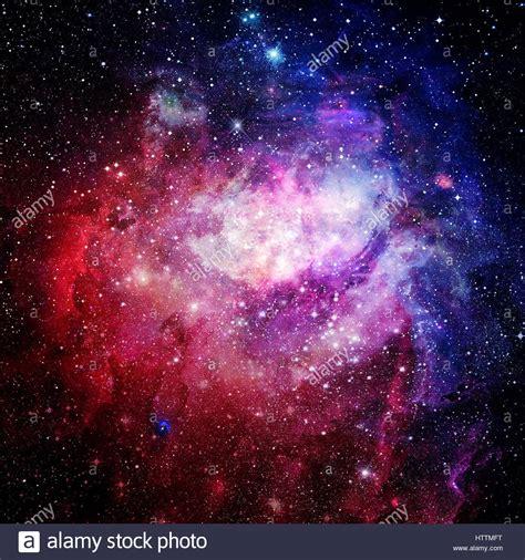 beautiful nebula stars  galaxies stock photo