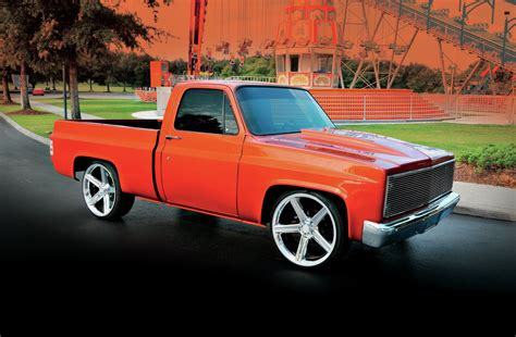 1984 Chevrolet C10  A 14yearold Creates His Own Truck