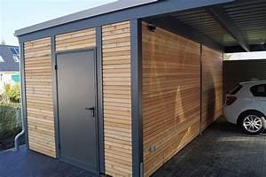 Carport Holz Modern : die besten 25 carport aus stahl ideen auf pinterest stahlschuppen carport aus holz und ~ Markanthonyermac.com Haus und Dekorationen