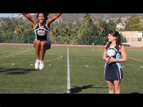 basics  cheerleading jumps cheerleading youtube