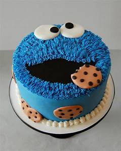 Cookie Monster Cake - CakeCentral com