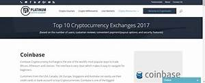 Top 10 Crypto Exchanges | Learn about Crypto at Platinum ...