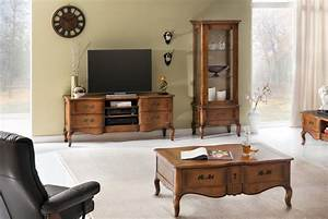 Wohnwand Holz Massiv : wohnwand vintage 3 teilig birke massiv antik look braun lackiert ~ Yasmunasinghe.com Haus und Dekorationen