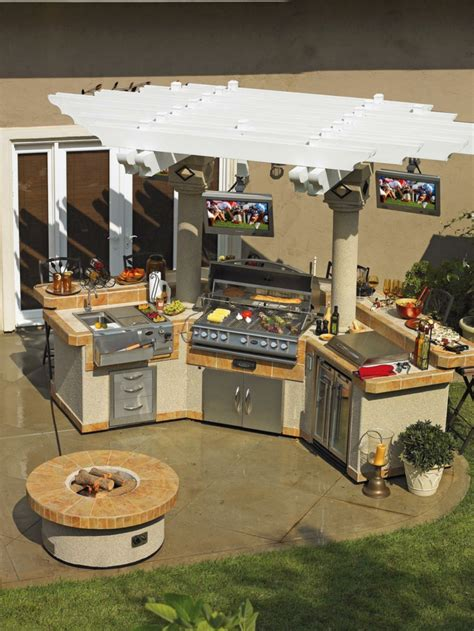 cuisine exterieure moderne cuisine extérieure été 50 exemples modernes pour se