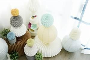 Boule Papier Luminaire : 1001 projets diy super cool pour fabriquer un luminaire origami ~ Teatrodelosmanantiales.com Idées de Décoration