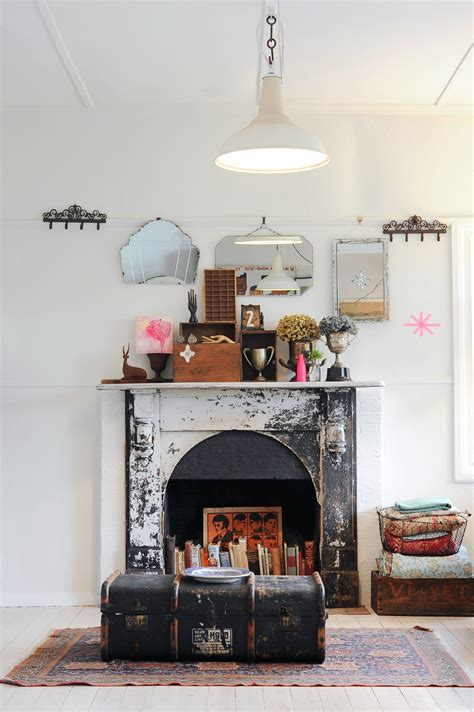 decorating ideas  nonworking fireplace design