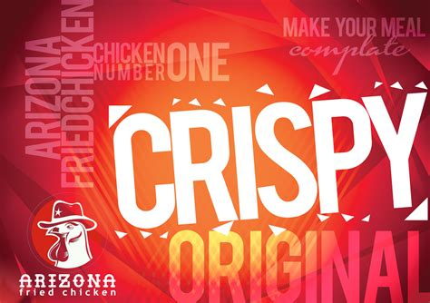 sribu desain poster desain wallpaper  arizona fried