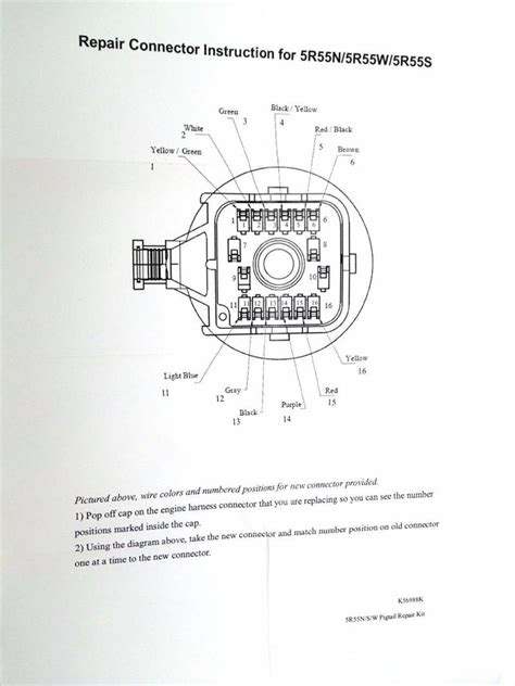 Wire Harness Repair Kit Fits Solenoid Pack